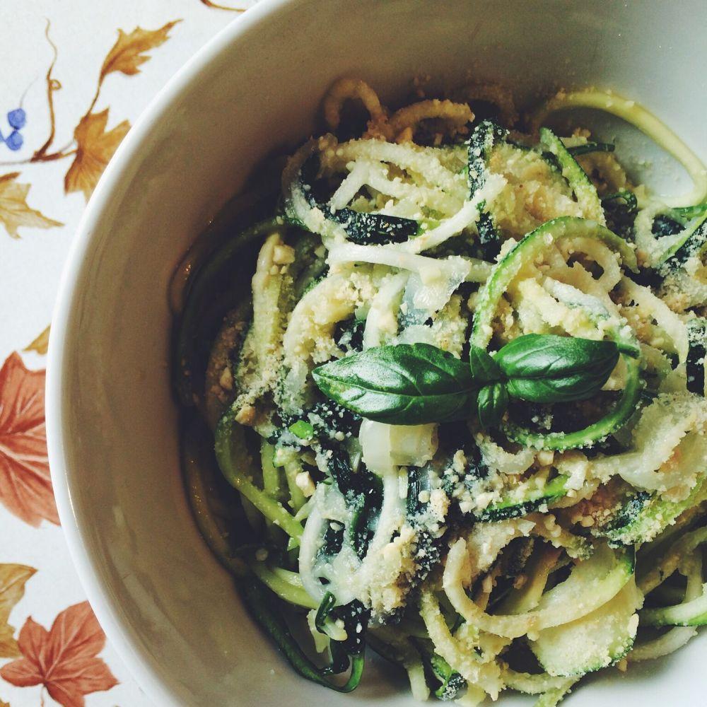 bučkini špageti